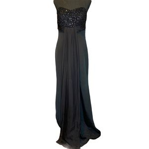Theia Floor Length Formal Gown